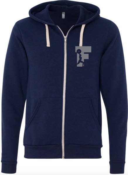 Triblend Sponge Fleece Full-Zip Sweatshirt