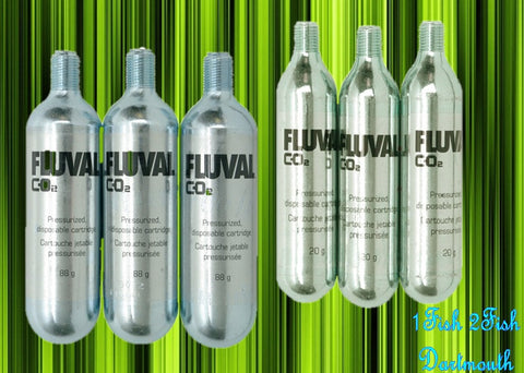 Fluval Pressurized Disposable CO2 Cartridges