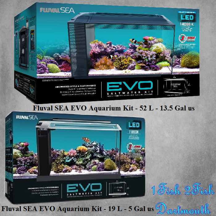Fluval SEA EVO Aquarium Kits