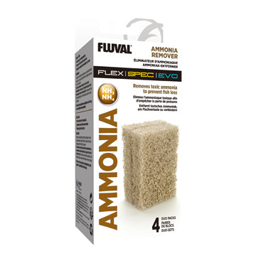 Fluval Ammonia Remover - 4 x Duo Pack