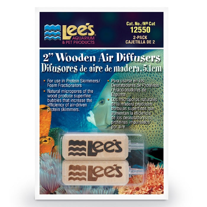 "Lee's Wooden Air Diffusers - 2"" - 2 pk"