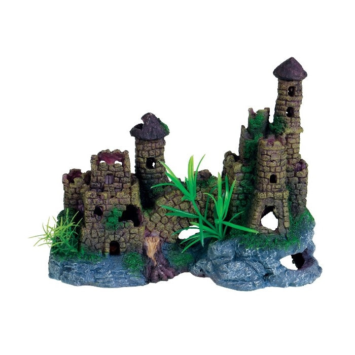 Underwater Treasures Cobblestone Castle