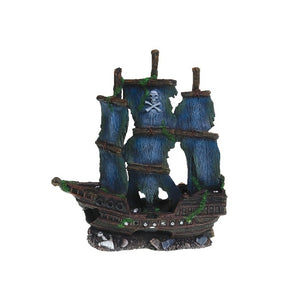 Underwater Treasures Pirate Ship