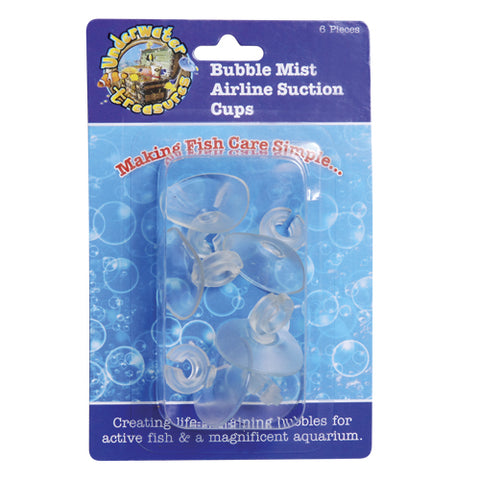 UT Bubble Mist Airline Suction Cups