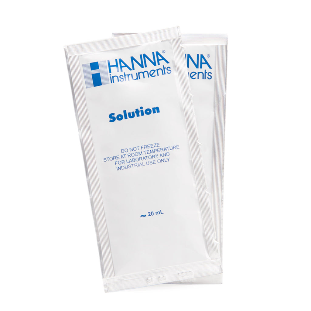 Hanna 35 ppt Salinity Calibration Solution Sachets (Single Use)