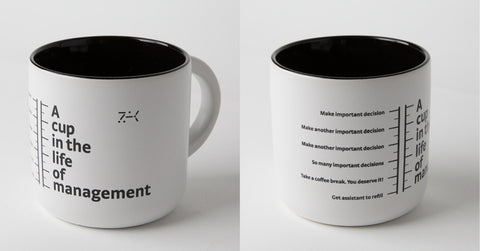 A cup in the life of management