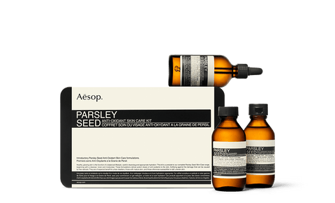 Parsley Seed Anti-Oxidant Skin Care Kit
