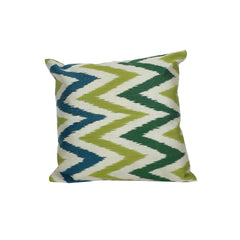 IKAT cushion cover - Blue Green Chevron - 40 x 40 cm - my little wish