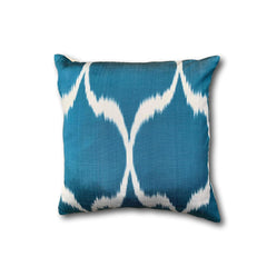 IKAT cushion cover - Blue - 40 x 40 cm