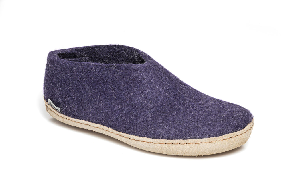 Glerups Shoes - purple - A-05-00 - my little wish  - 2