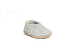 Glerups Toodlers Shoes - grey - AK-01-00 - my little wish  - 1