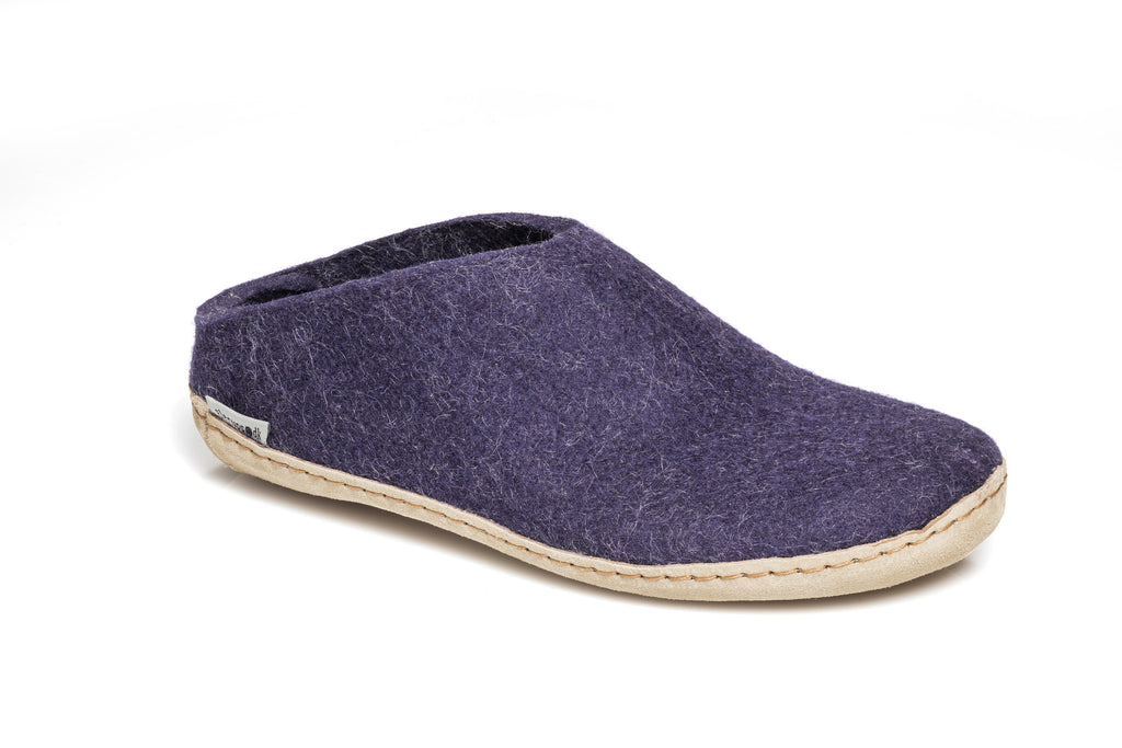 Glerups Slip-on - purple - B-05-00 - my little wish  - 2
