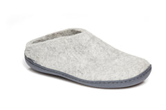 Glerups Slip-on w. rubber sole - grey - BG-01-00 - my little wish  - 1