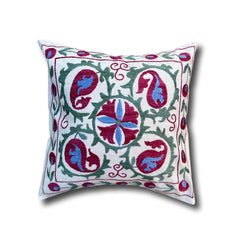 Cotton Suzani cushion cover, 43 x 44 cm (SU08)