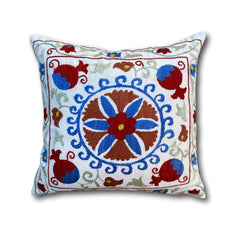 Cotton Suzani cushion cover, 43 x 46 cm (SU09)