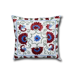 Cotton Suzani cushion cover, 41 x 45 cm (SU11)