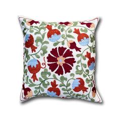 Cotton Suzani cushion cover, 43 x 46 cm (SU12)