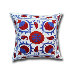 Cotton Suzani cushion cover, 42 x 45 cm (SU06)