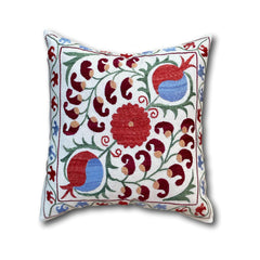 Cotton Suzani cushion cover, 43 x 46 cm (SU07)