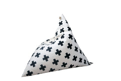 Kids Bean Bag - Cross Print