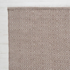 Diamond Rug - Beige