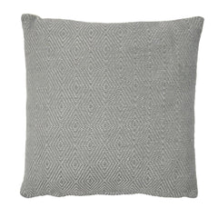 Outdoor Lightweight Diamond Dove Grey Cushion