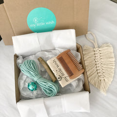 DIY Macrame Feather Kit - Single