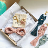 DIY Macrame Keyring Kit - Single