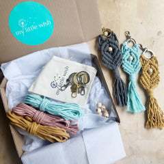 DIY Macrame Keyring Kit - Triple