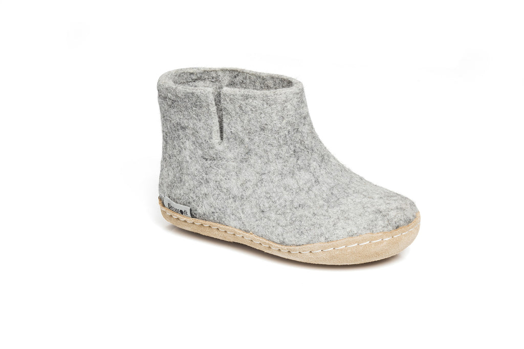 Glerups Kids Boots - grey - GG-01-00 - my little wish  - 1