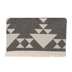 Handwoven Liva Blanket - Black