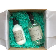 Gift Box - Soap & Lotion , Silky Mist