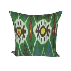 IKAT cushion cover - Green Kilim - 45 x 45 cm - my little wish