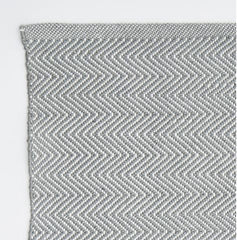 Herringbone Rug - Dove Grey