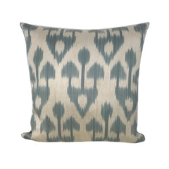IKAT cushion cover - Grey Tribal- 40 x 40 cm