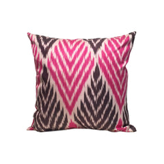 Pink Chevron IKAT Cushion Cover 45 x 45 cm - my little wish