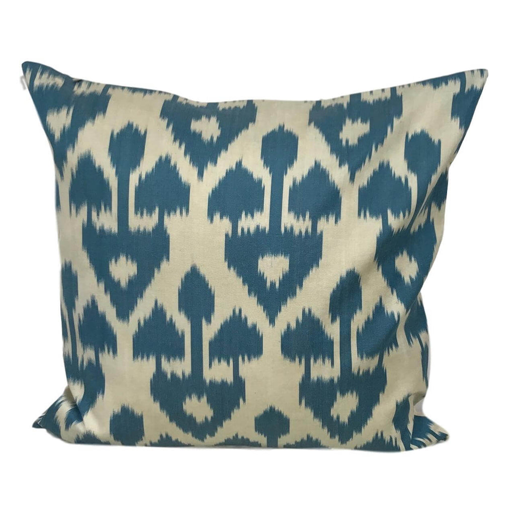IKAT cushion cover - Blue Arrow - 50 x 50 cm