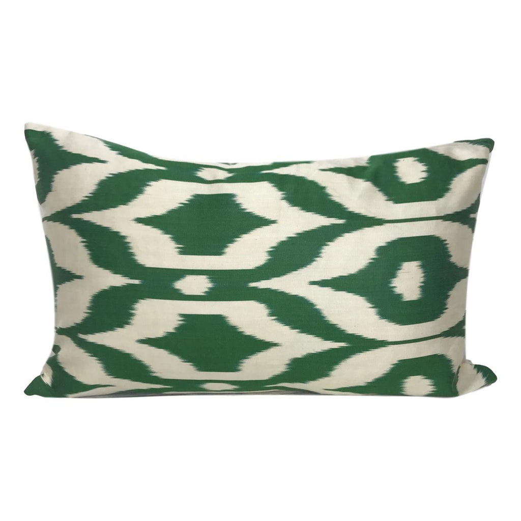 IKAT cushion cover - Green - 40 x 60 cm