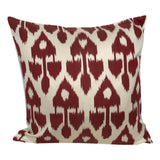 Red Arrow IKAT cushion cover - 50 x 50 cm
