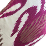 IKAT cushion cover - Double Sided- Pink 35 x 60 cm