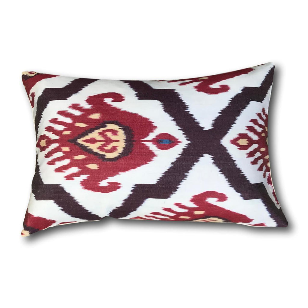 IKAT cushion cover - Red Kilim - 40 x 60 cm