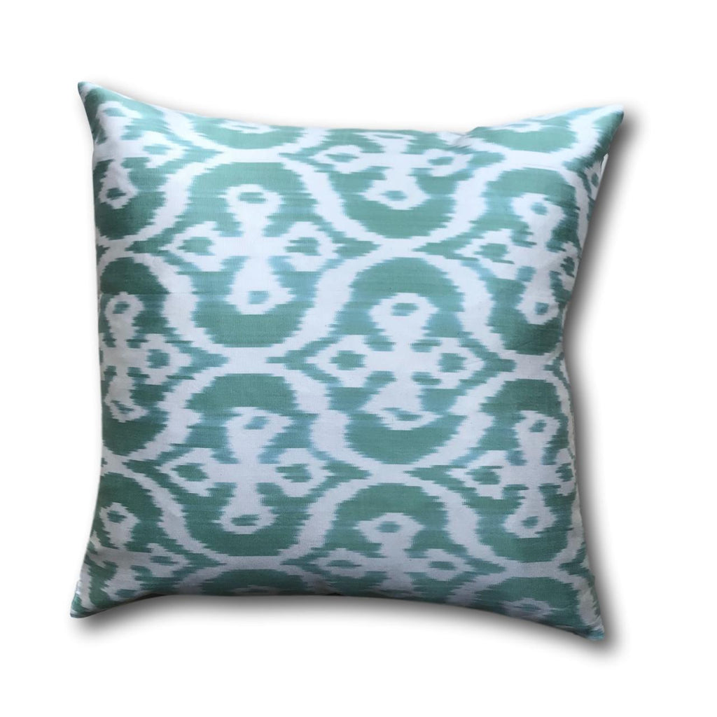 IKAT cushion cover - Mint Green - 50 x 50 cm