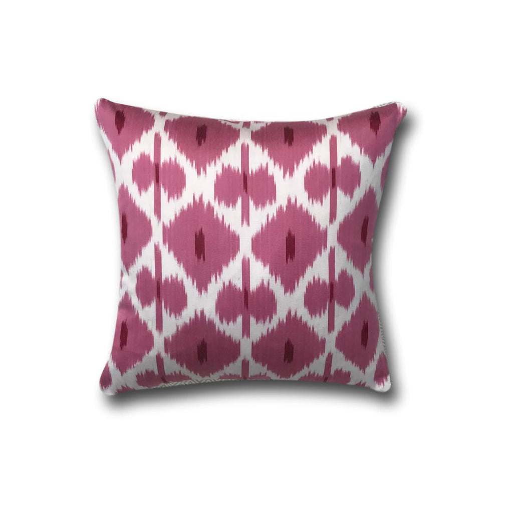 IKAT cushion cover - Pink - 40 x 40 cm