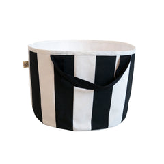 Shallow Storage Bag - Stripe Print