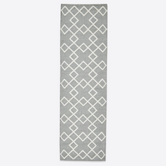 Juno Runner Rug - Dove Grey