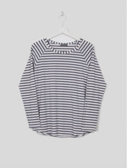 Tasha Striped T-Shirt - Charcoal