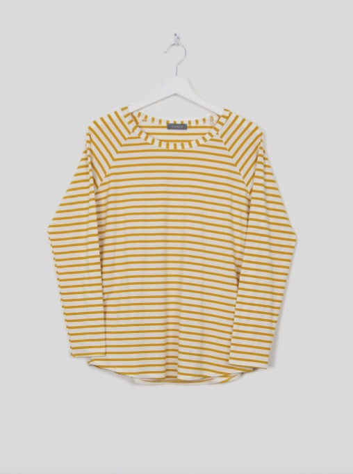Tasha Striped T-Shirt - Mustard