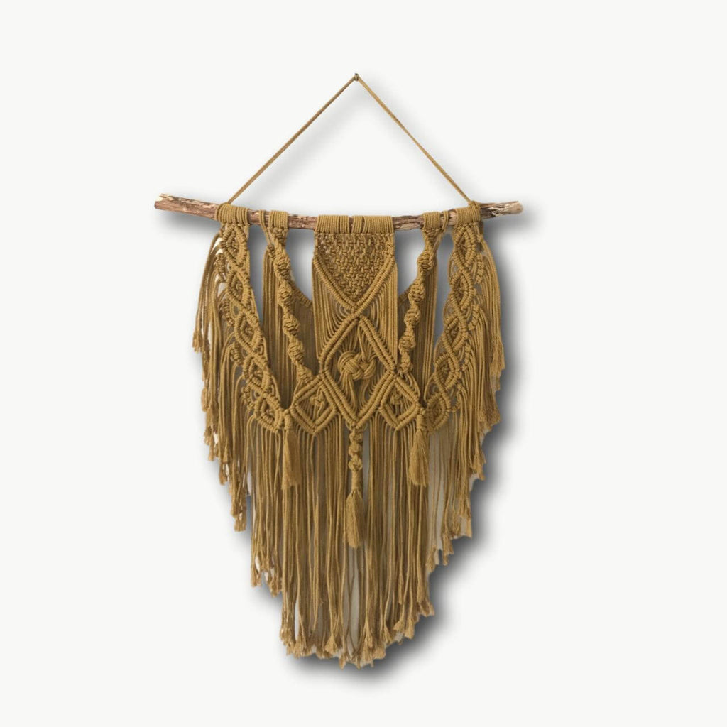 Boho Macrame Wall Hanging - Recycled - Large