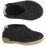 Glerups Toodlers Shoes - charcoal - AK-02-00 - my little wish  - 1