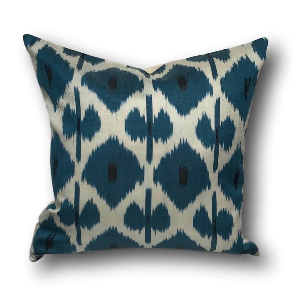 IKAT cushion cover -Blue -  50 x 50 cm